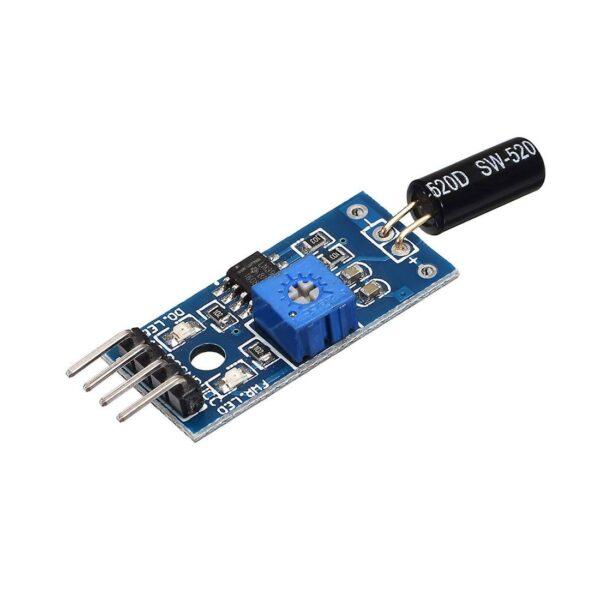 SW520D Mercury Tilt Switch Sensor Module