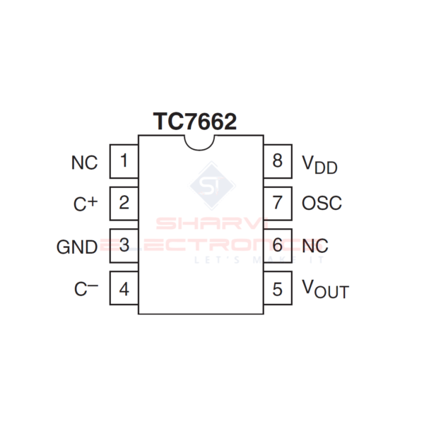 TC7662-IC-Charge-Pump-DC-to-DC-Voltage-Converter-IC