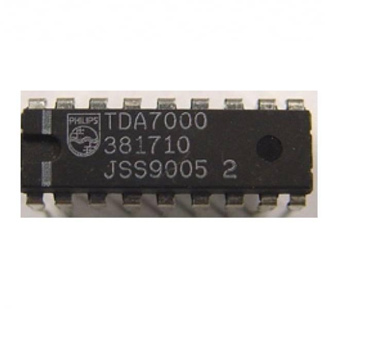 TDA7000 IC-FM Radio Receiver IC