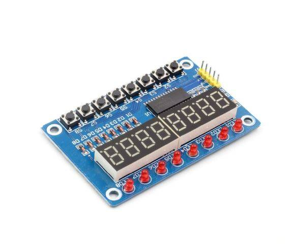 TM1638 8-Bit Button LED Segment Digital Module
