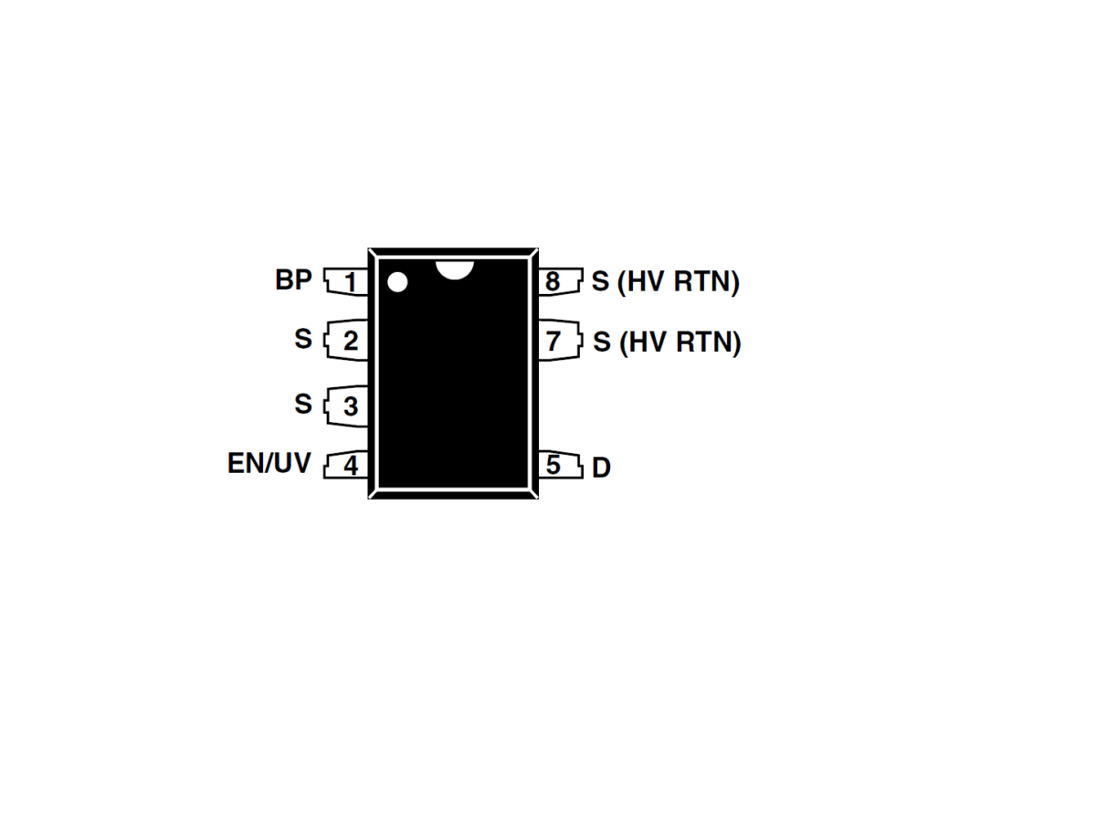 Sharvielectronics: Best Online Electronic Products Bangalore   TNY268PN IC Power Integrations Off Line Switcher with Low Power IC   Electronic store in bangalore