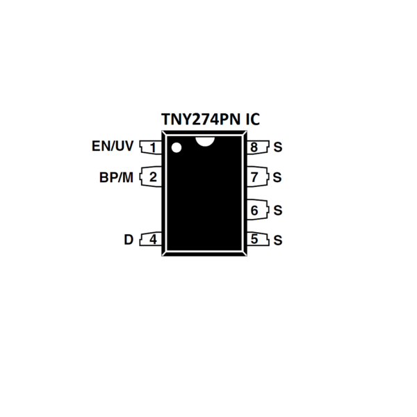 TNY274PN IC-Power Integrations Off Line Switcher IC