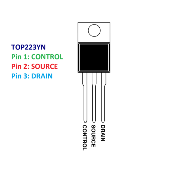 TOP223YN IC-Power Integrations-Off Line Switcher IC