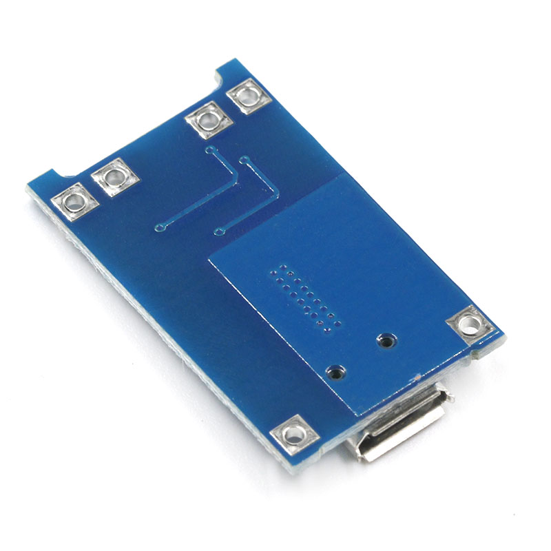 TP4056 1A Li-Ion Lithium Battery Charging Module-Micro B USB sharvielectronics.com