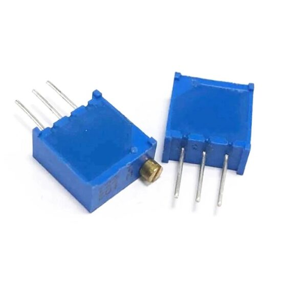 500K Ohm Variable Resistor-Trimpot 3296 Package