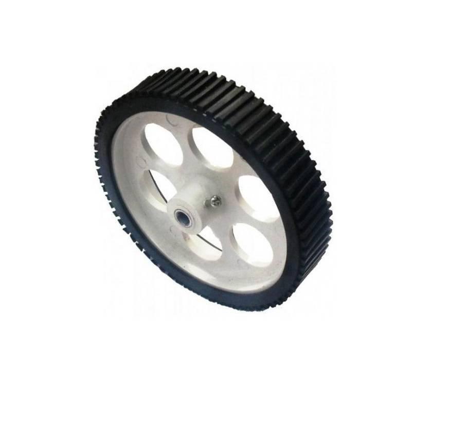 Robot Wheel-10cm Diameter-6mm Hole-Big size