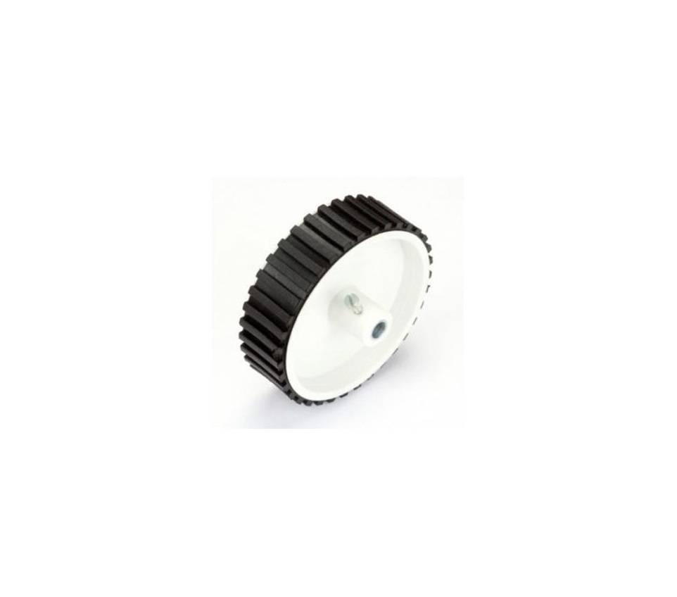 Wheel-7cm Diameter 6mm Hole-Normal size for DC Geared Motor