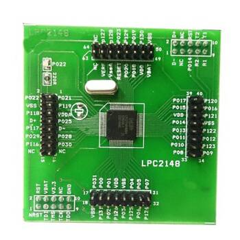 Arm 2148 Daughter Board for LPC2148 Dev Board