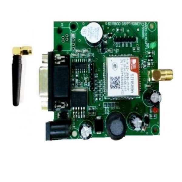 SIM800A Quad Band GSM GPRS Module with RS232 Interface and SMA Antenna