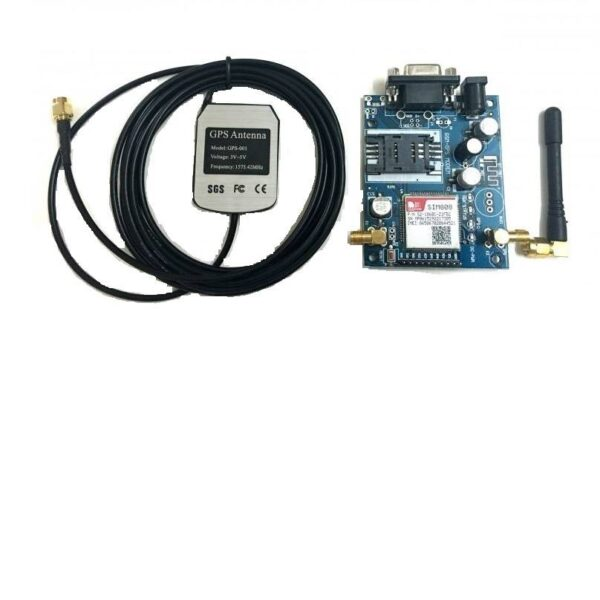 SIM808 GSM/GPRS/GPS Module with GPS and GSM Antenna