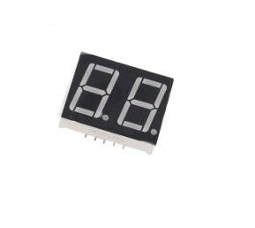 0.56 inch 2 Digit 7 Segment Red LED Display CC 18pin