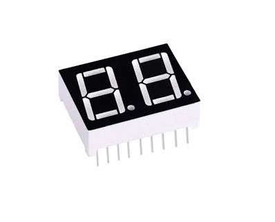 0.56 inch 2 Digit 7 Segment Red LED Display CC 18pin