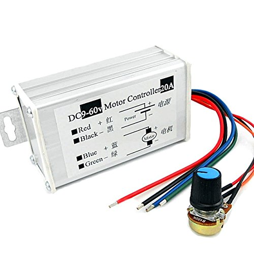 20A PWM DC Motor Speed Regulator Module (9~60V)