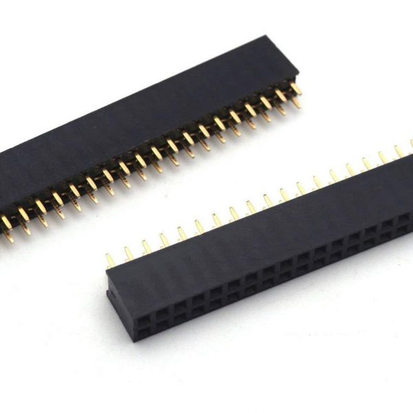 20x2 Pin Female Double Row Header sharvielectronics.com