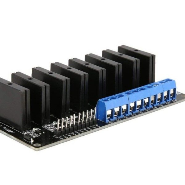 5V 2A 8-Channel G3MB-202P Solid State Relay Module-SSR