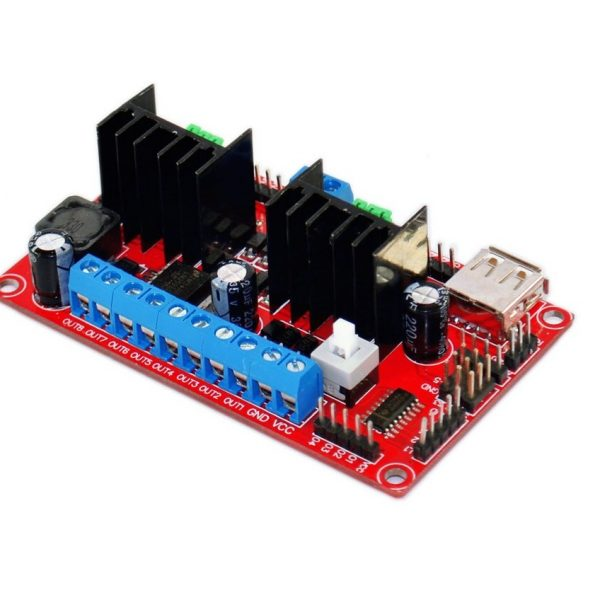 L298N 4 CHANNEL DC MOTOR DRIVER sharvielectronics.com