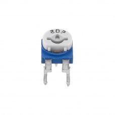 2.2K ohm Variable Resistor Cermet Preset – 2 pieces pack sharvielectronics.com