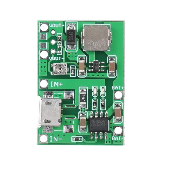 HW-357 3.7V 9V 5V Adjustable PCB Step Up 18650 Li-ion Battery Charge sharvielectronics.com