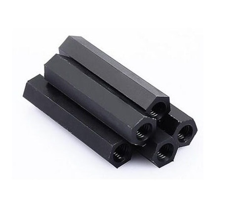 Nylon Hex Spacer With Tapping 6AF - 5 Pieces Pack sharvielectronics.com