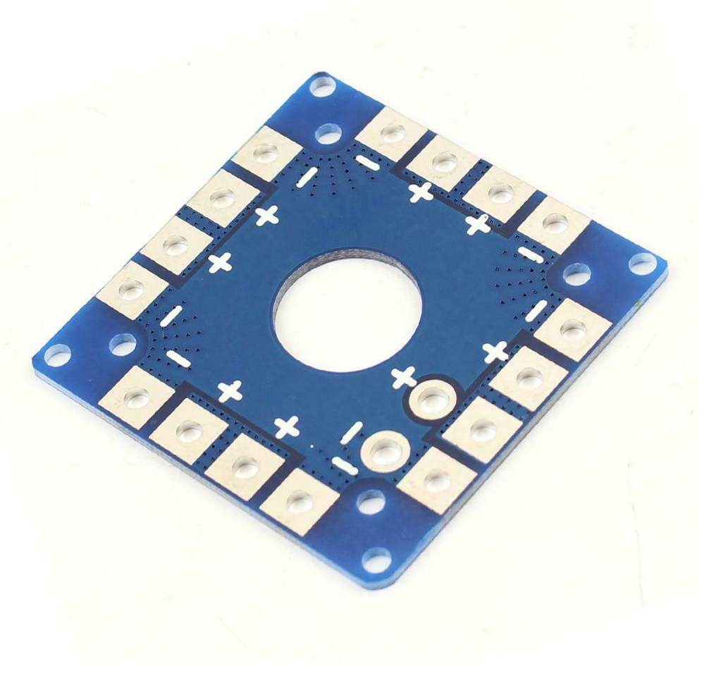 PDB Connection Plate Power Distribution Board Four Axis Aircraft General ESC Battery for Quadcopter Multirotor sharvielectronics.com