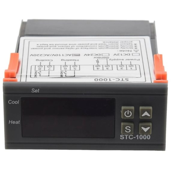 STC-1000 Digital Temperature Controller Heating Cooling Centigrade Thermostat sharvielectronics.com