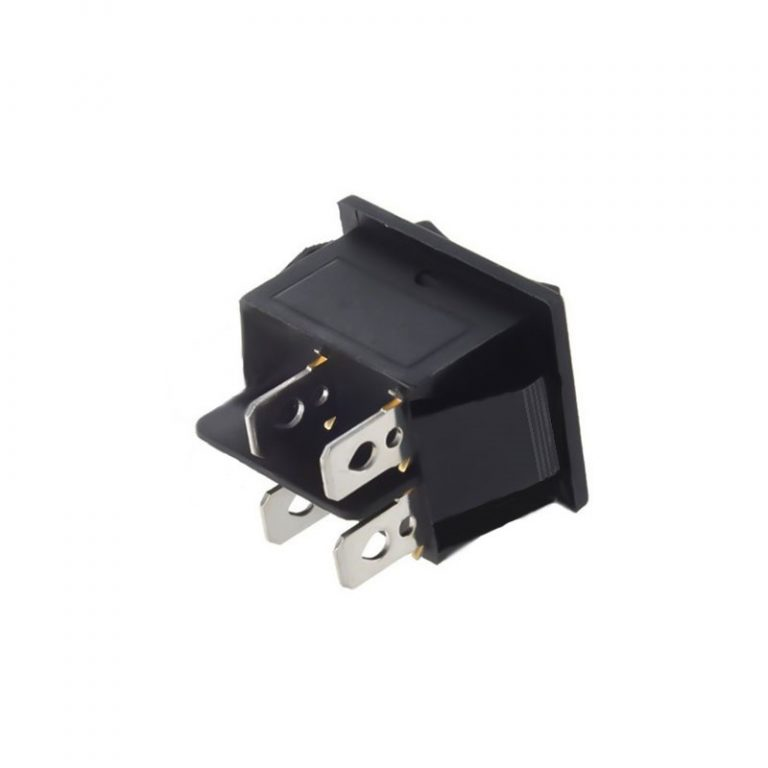 16A DPST ON-OFF Rocker Switch Without Indicator