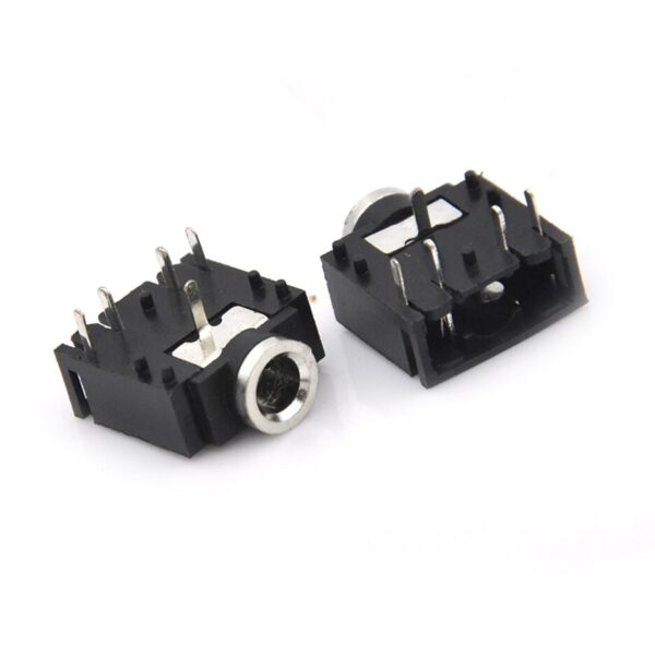 3.5mm Female Stereo Audio Socket Headphone Jack Connector 5 Pin PCB Mount sharvielectronics.com