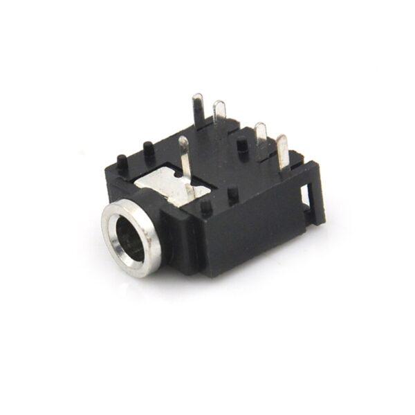 3.5mm Female Stereo Audio Socket Headphone Jack Connector 5 Pin PCB Mount sharvielectronics.com