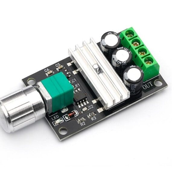 DC Motor PWM Speed Controller 6V to 28V 3A 80W Adjustable Sharvielectronics