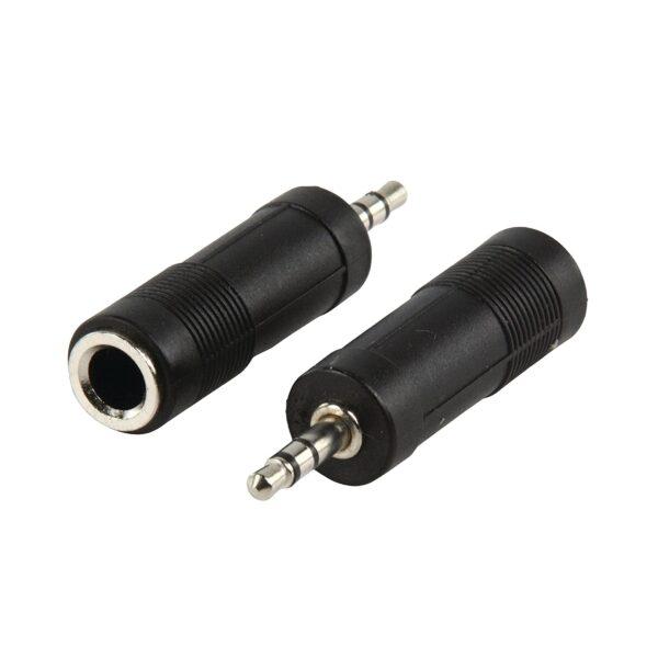 Audio Jack 6.3mm female jack to 3.5mm male plug sharvielectronics.com