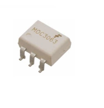 MOC3063 Zero-Cross Phototriac Driver Optocoupler–SOP6-SMD sharvielectronics.com