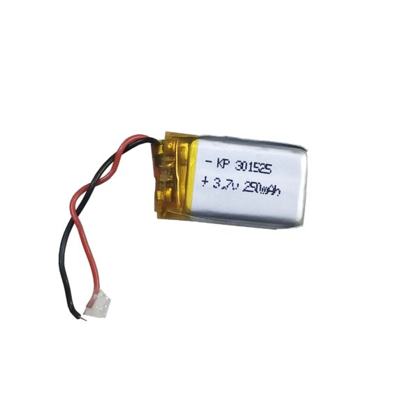 Lipo Rechargeable Battery-3.7V/250mAH-KP-301525 Model
