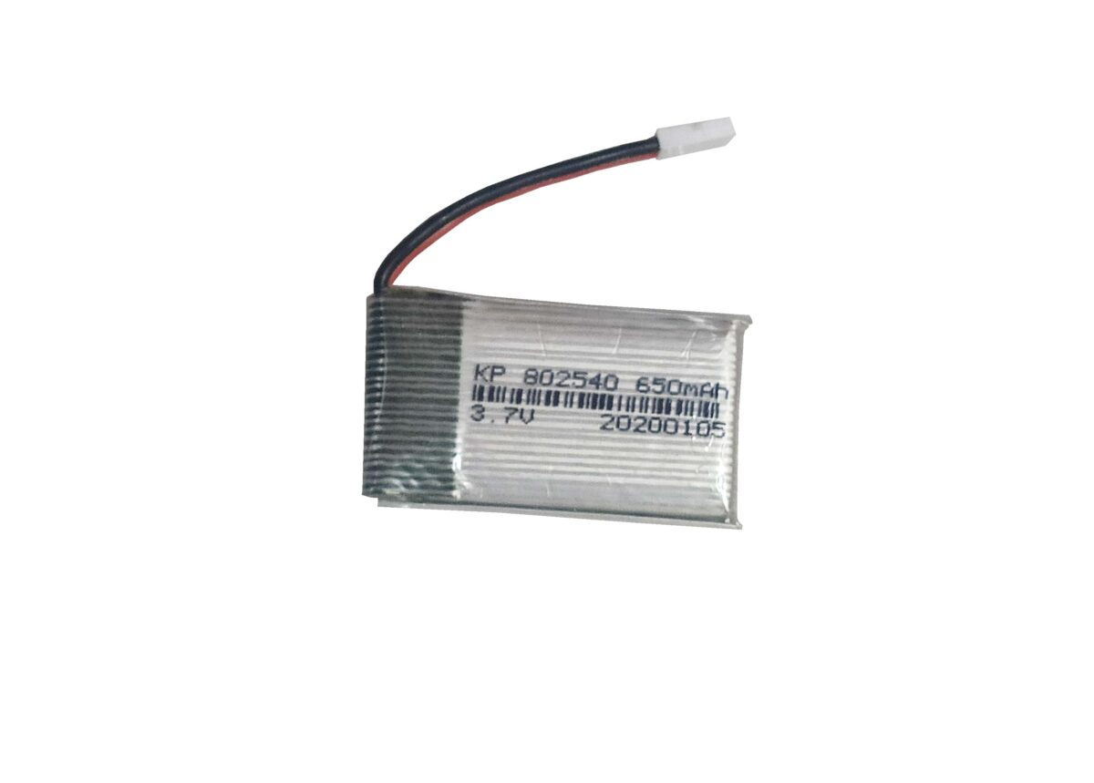 Lipo Rechargeable Battery- 3.7V/650mAH-kp-802540 For RC Drone