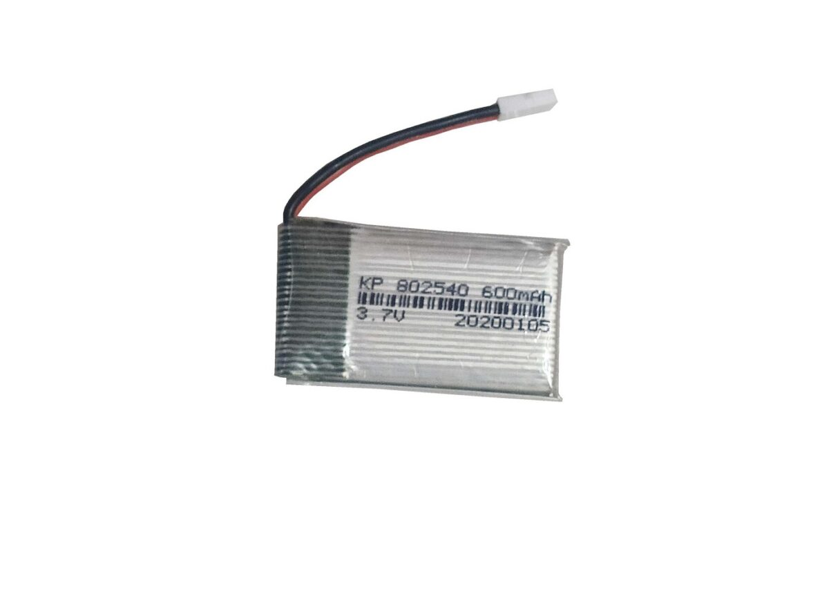 Lipo Rechargeable Battery- 3.7V/600mAH-kp-802540 For RC Drone