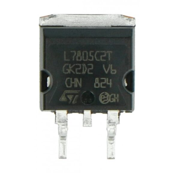 7805 (7805) - 5V Positive Voltage Regulator IC - (SMD TO-263D2PAK Package) sharvielectronics.com