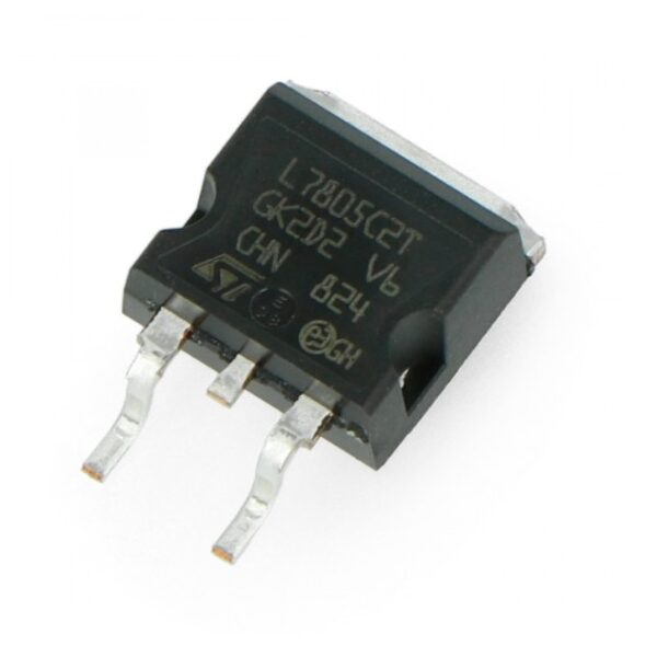 7805 - 5V Positive Voltage Regulator IC - (SMD TO-263/D2PAK Package) sharvielectronics.com
