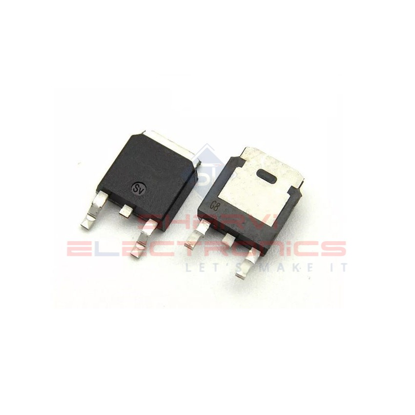 78M05 (7805) - 5V Positive Voltage Regulator IC - (SMD TO-263/D2PAK Package)