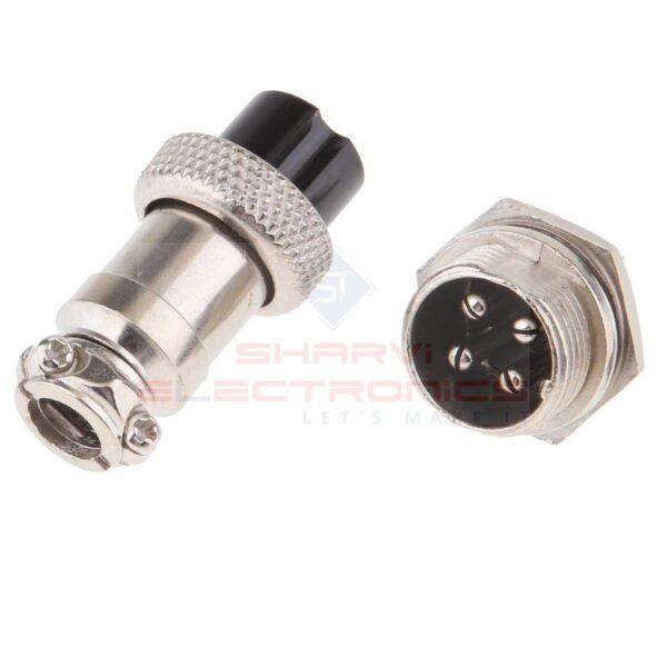 AVIATION PLUG (4 Pin Male And Female) sharvielectronics.com