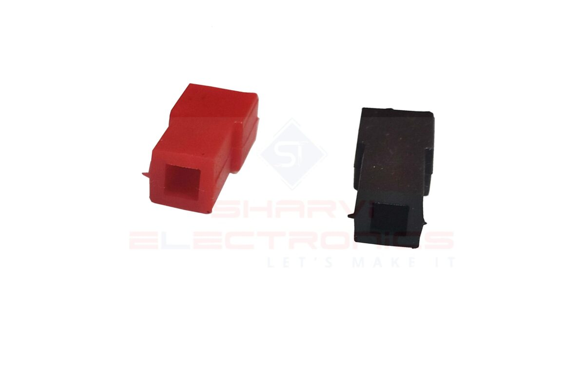 Battery Spade Terminal Sleeve -Red and Black Pair sharvielectronics.com