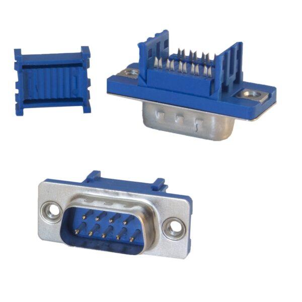 DB9 9 Pin Male IDC Connector sharvielectronics.com