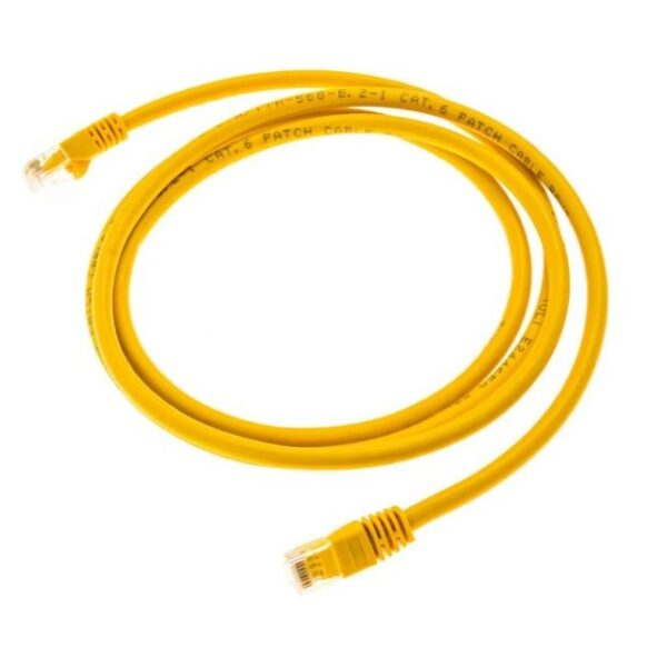 Ethernet Lan Cable - 1.5 Meter Yellow sharvielectronics.com