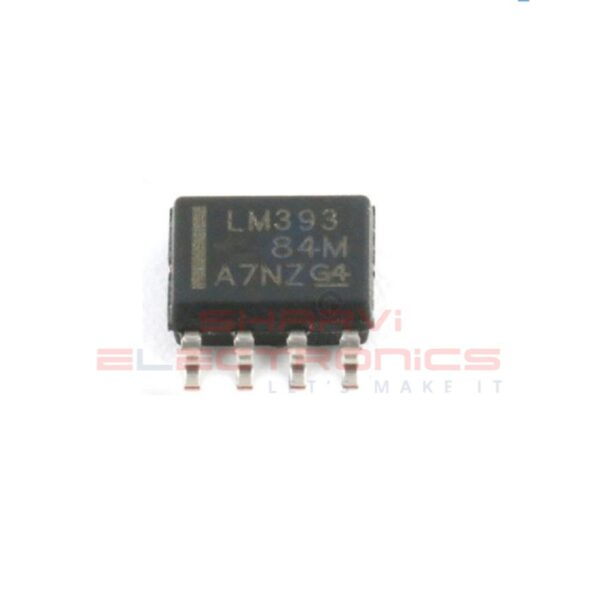 LM393 - Low Power Low Offset Voltage Dual Comparator IC - SMD