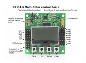 Sharvielectronics: Best Online Electronic Products Bangalore | Multi Rotor LCD Flight Control Board With 6050MPU And Atmel 644PA 5 | Electronic store in bangalore