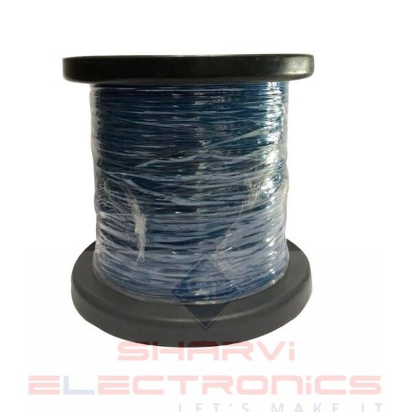Sharvielectronics: Best Online Electronic Products Bangalore   Multi Strand Flexible Wire Blue 742 Thin 92 Meter 1 2   Electronic store in bangalore