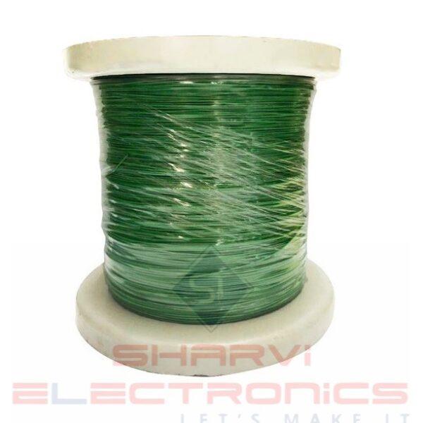 Multi Strand Flexible wire-Green-7/42 thin-(92 meters)