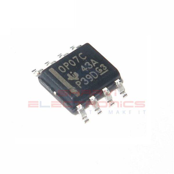 OP07 - Ultralow Offset Voltage Op-Amp IC - SMD