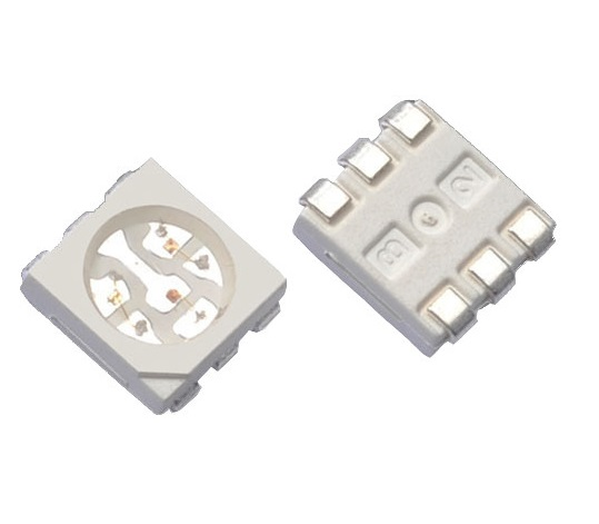 Sharvielectronics: Best Online Electronic Products Bangalore   RGB LED 6 Pin SMD Chip 5050 1 2   Electronic store in bangalore