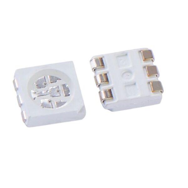 Blue LED - 6 Pin SMD Chip 5050