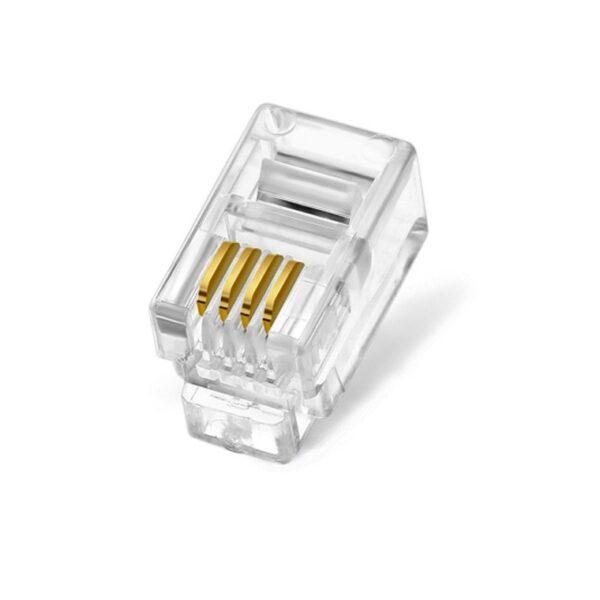 RJ45 4 Pin Male Plug sharvielectronics.com
