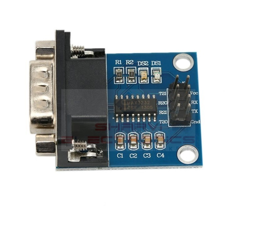 RS232 to TTL Serial Interface Module sharvielectronics.com